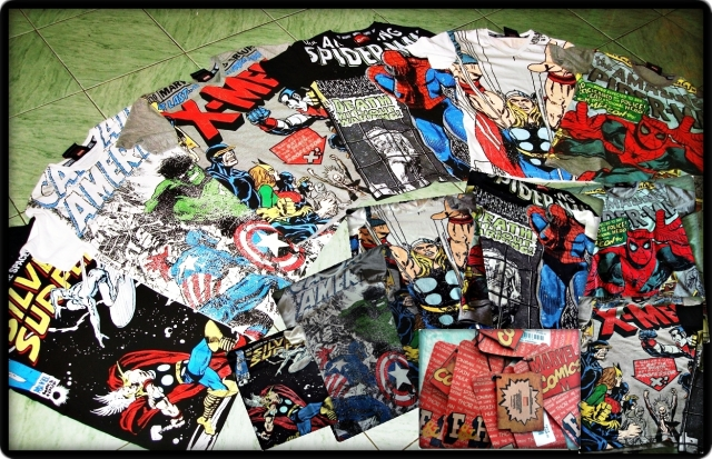 Folded and Hung Marvel Collection